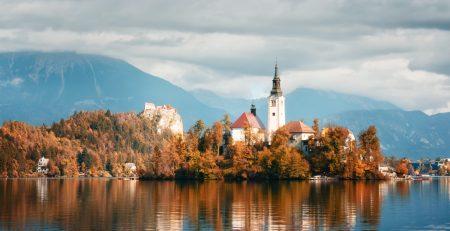 Бизнес статистика в Словении за год 2018